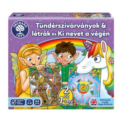Orchard Toys Tündérszivárványok & létrák és Ki nevet a végén társasjáték