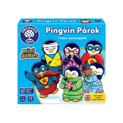 Orchard Toys Pingvin párok mini társasjáték