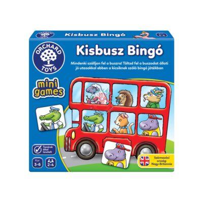 Orchard Toys Kisbusz bingó mini társasjáték