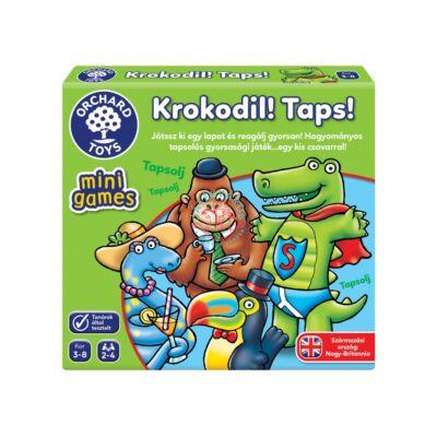 Orchard Toys Krokodil taps! mini társasjáték