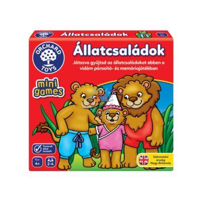 Orchard Toys Állatcsaládok mini társasjáték