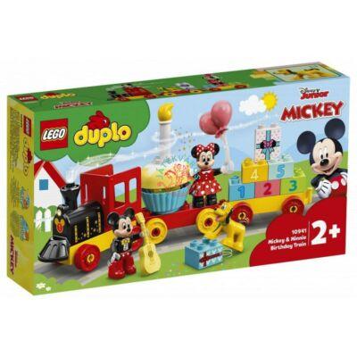 Lego DUPLO Disney TM Mickey & Minnie születésnapi vonata 10941