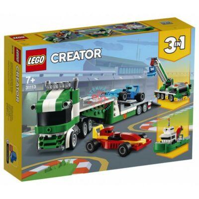 Lego Creator Versenyautó szállító 31113