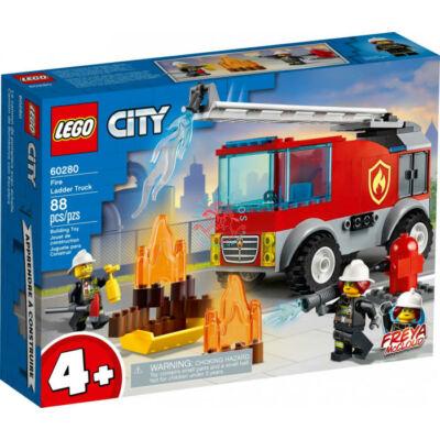 Lego City Fire Létrás tűzoltóautó 60280