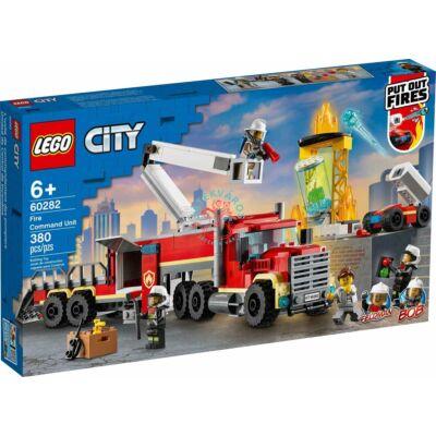 Lego City Fire Tűzvédelmi egység 60282
