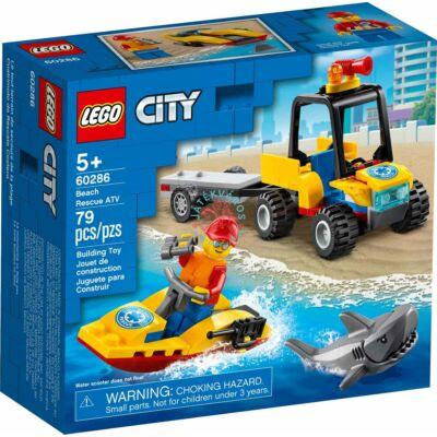 Lego City Great Vehicles Tengerparti mentő ATV jármű 60286