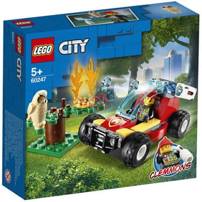 Lego City Fire Erdőtűz 60247