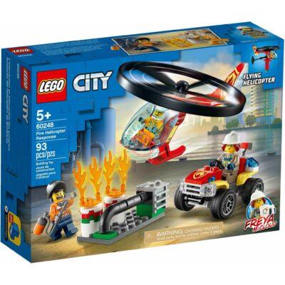 Lego City Fire Sürgősségi tűzoltó helikopter 60248