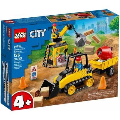 Lego City Great Vehicles Építőipari buldózer 60252