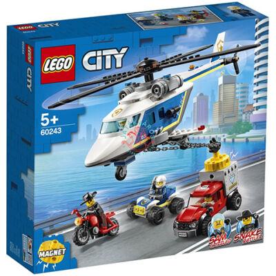Lego City Police Rendőrségi helikopteres üldözés 60243