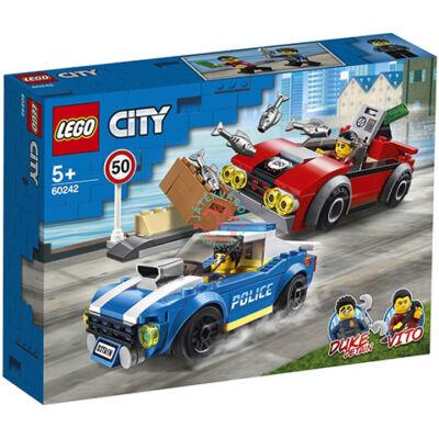 Lego City Police Rendőrségi letartóztatás az országúton 60242