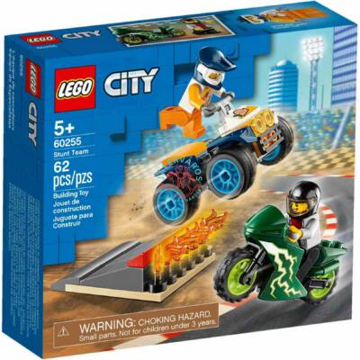 Lego City Turbo Wheels Kaszkadőr csapat 60255