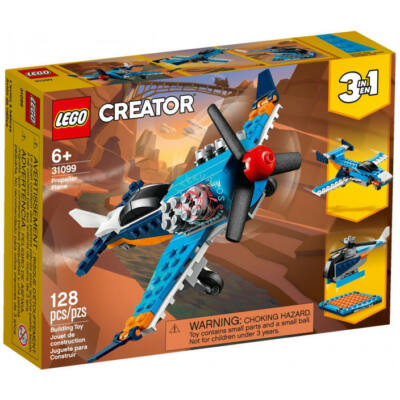 Lego Creator 3-in-1 Légcsavaros repülőgép 31099