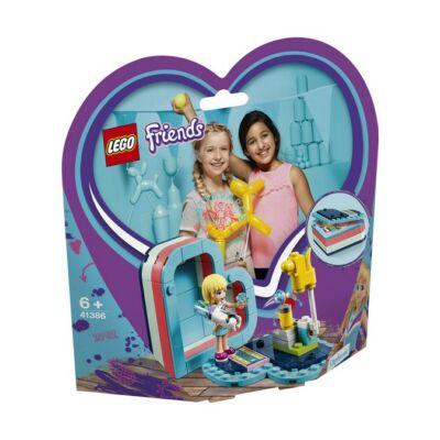 LEGO Friends Stephanie nyári szív alakú doboza 41386