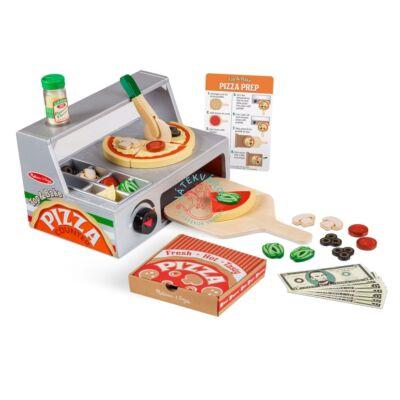 Melissa & Doug fa pizzasütő készlet