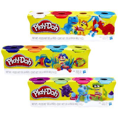 Play-Doh 4 tégely színes gyurma