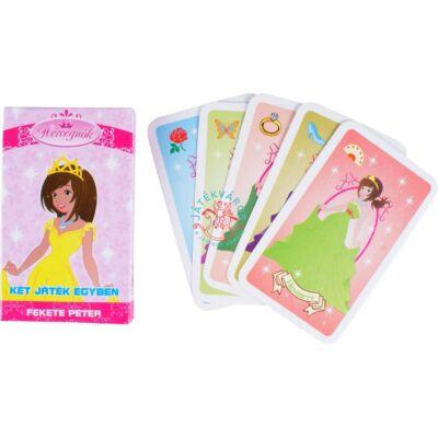 Hercegnők-memória és Fekete Péter kártya