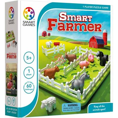 Farmer Smart games logikai készségfejlesztő társasjáték