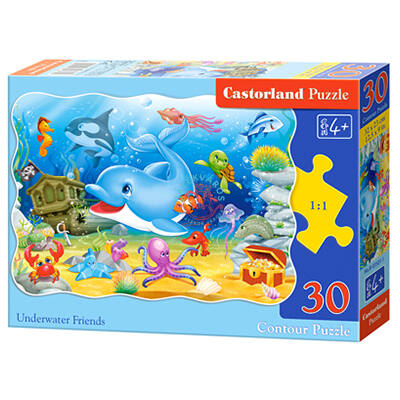 Vízalatti barátok 30 db-os puzzle Castorland
