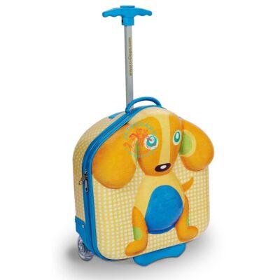 Oops gurulós bőrönd, kutyus