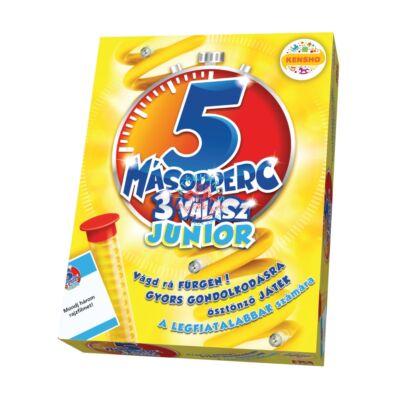 5 Másodperc 3 Válasz Junior Társasjáték