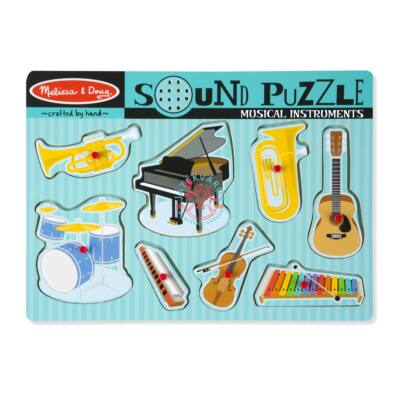 Melissa & Doug Hangos puzzle, Hangszerek
