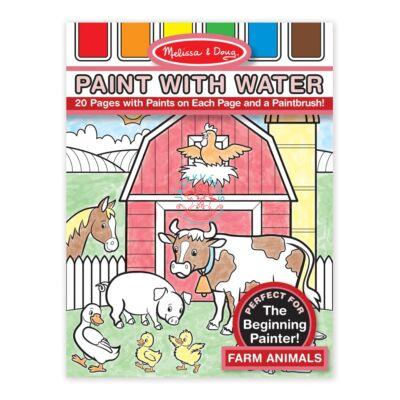 Melissa & Doug festés vízzel, farm