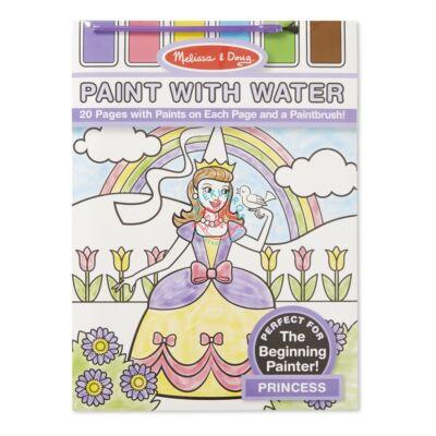 Melissa & Doug festés vízzel, hercegnő