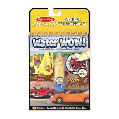Melissa & Doug Rajzolás vízzel, járművek